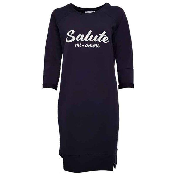 elvira E1-19-013 salute dress navy